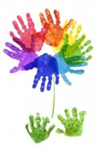 Pediatric Lyme 3 - Children Paint Hands